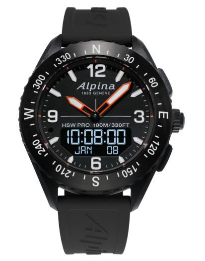 ALPINA AlpinerX Smart Watch AL-283LBB5AQ6 från Alpina.
