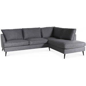 Weekday soffa med öppet avslut höger - Grå från Skånska Möbelhuset.